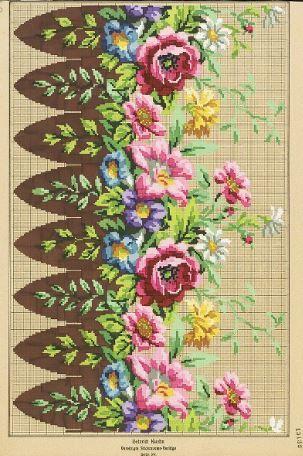 Berlin WoolWork Pattern By Heinrich Kühn