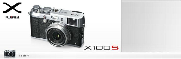 Fuji X100S (via http://www.wired.com/gadgetlab/2013/01/ces-2013-fuji-x100s/)
