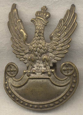 WWI-1920 Polish Hat Badge