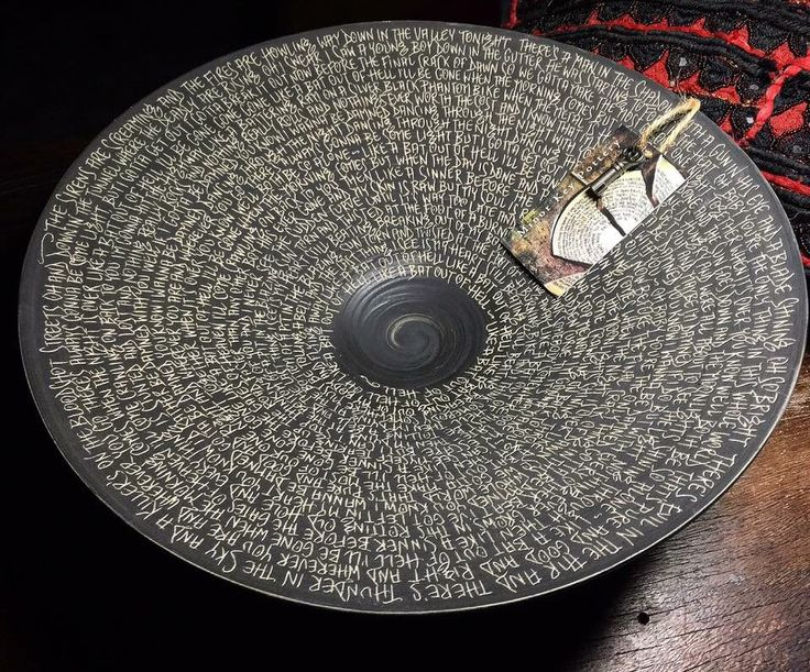 Lyric Bowl - Bat Out Of Hell by MinorKeyPottery on Etsy https://www.etsy.com/uk/listing/476851563/lyric-bowl-bat-out-of-hell