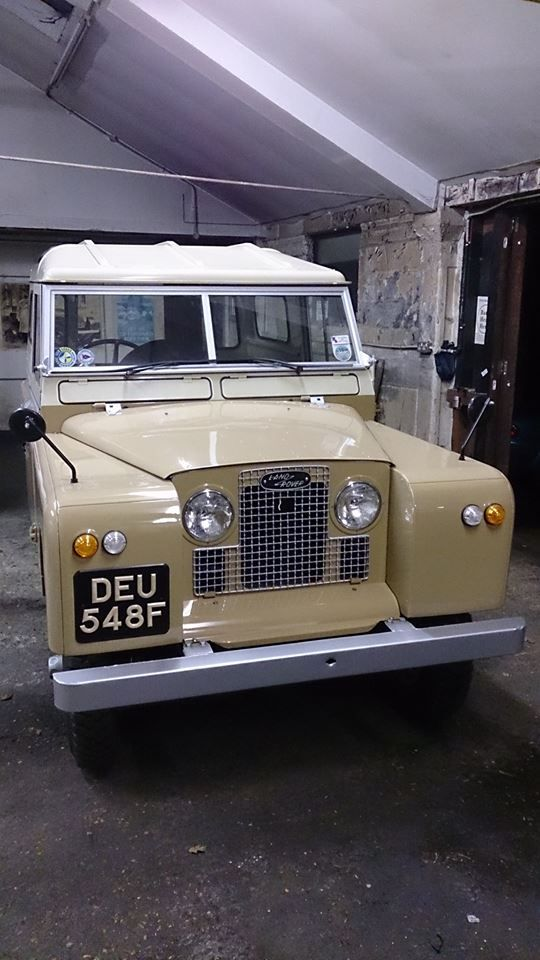 Series 2A Landrover from 1967