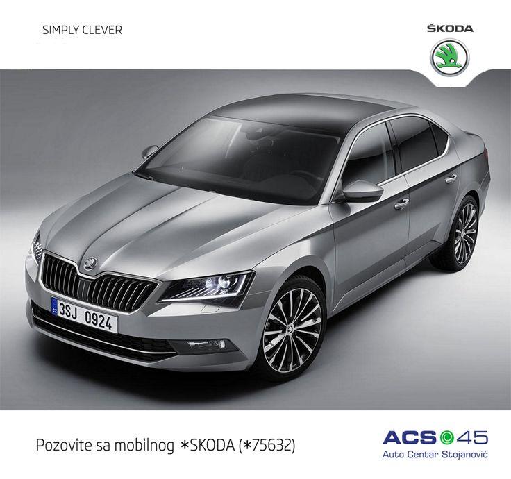 Nova ŠKODA Superb predstavlja revoluciju marke. Nova dizajnerska skica pokazuje pravu limuzinu , kvalitetnu i punu strasti. Dizajn je elegantan, dinamičan i moderan. Pozovite *SKODA za Auto Centar Stojanović