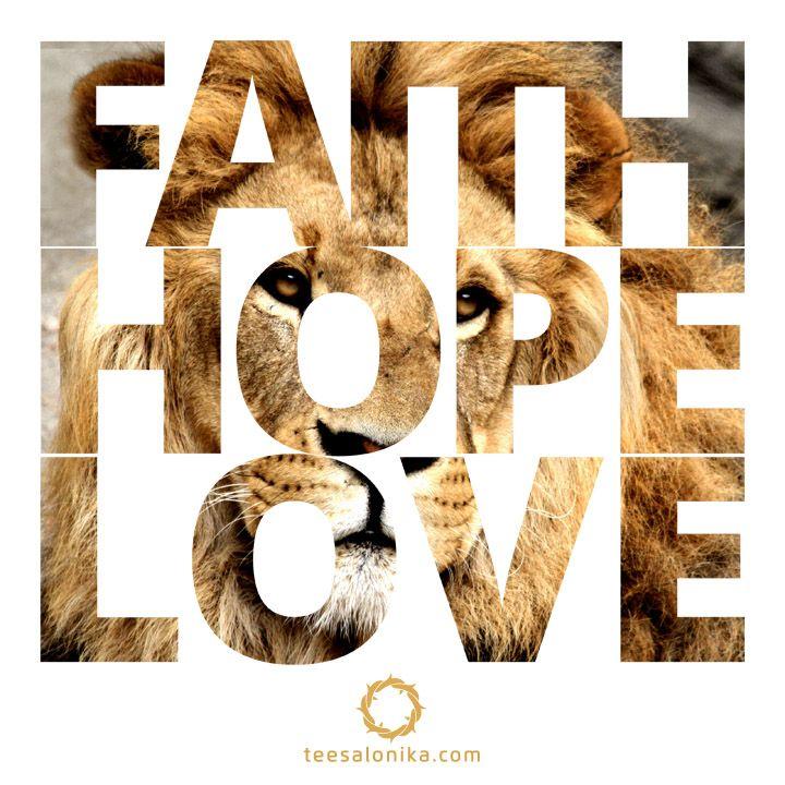 Iman, Pengharapan dan Kasih (I Kor 13:13).