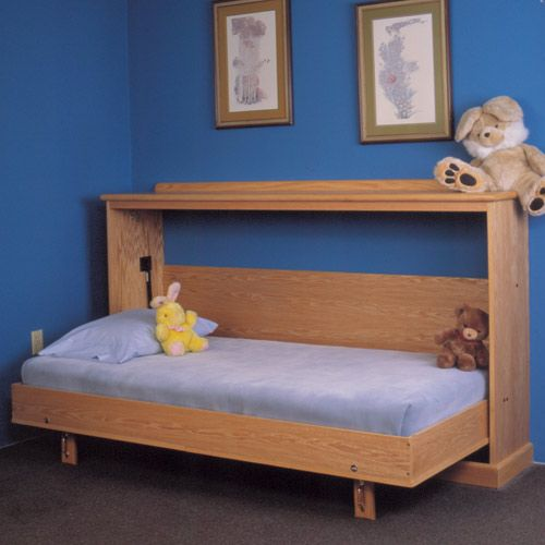 Side Mount Murphy Bed Hardware - Rockler Woodworking Tools- perfect for guest room.