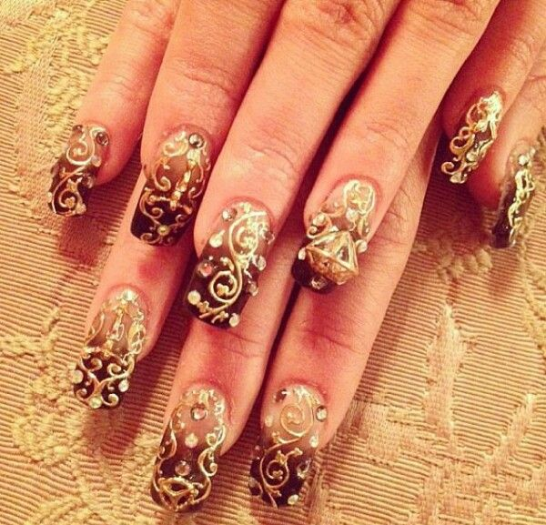27 Best Images About Indian Nail Art On Pinterest