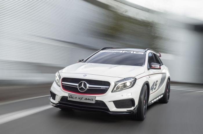 Mercedes Benz GLA 45 AMG Revealed At Los Angeles Auto Show | Fly-Wheel