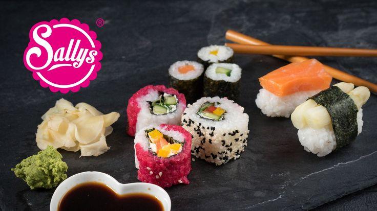 Sushi von A-Z für Anfänger. Lerne wie man Sushi Ingwer einlegt, Sushi Reis mithilfe von Sushi Zu zubereitet und die Maki, Inside out und Nigiri zubereitet.Da...