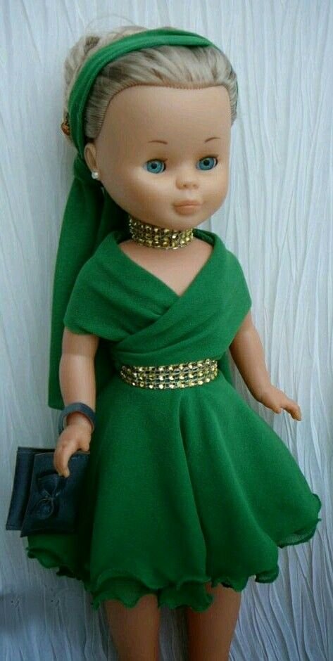 NAncy Doll in Green