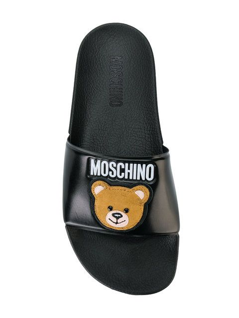 c6753592764237 Moschino Teddy Bear Slides For  208. Buy Moschino Teddy Bear Slides With Fast  Global Delivery