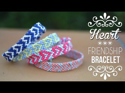DIY - Tuto : Bracelet Brésilien Coeur | DIY | Do it yourself | By Isnata