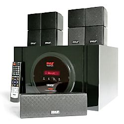 Sound Amplifier - Bluetooth 5.1 Channel Home Theater System – Surround Sound Speakers & A/V Amplifier Receiver, FM Radio