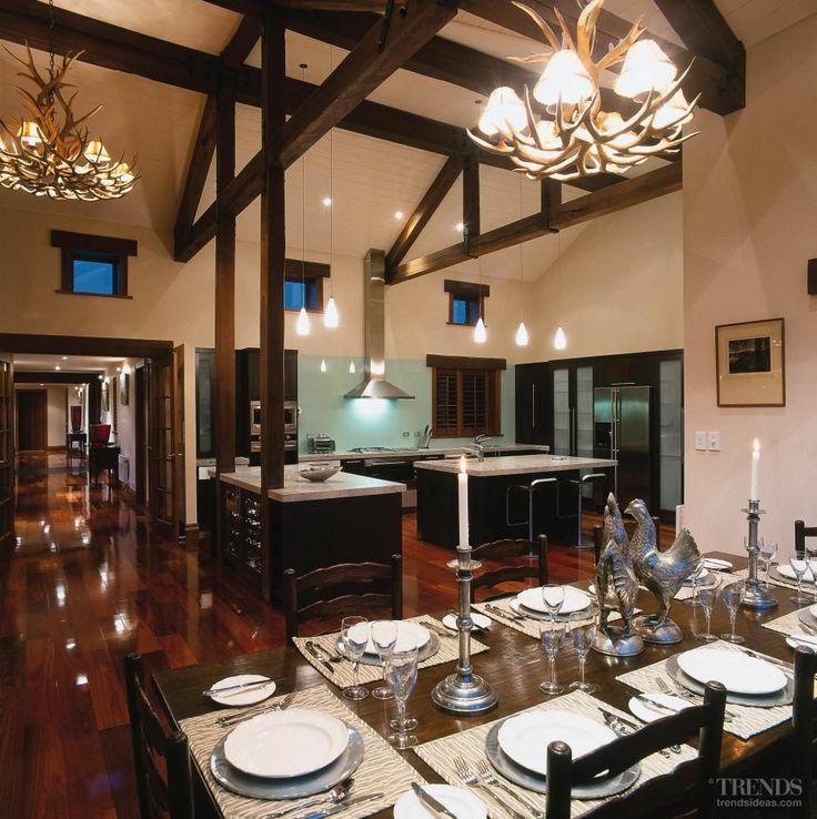 Wanaka House kitchen