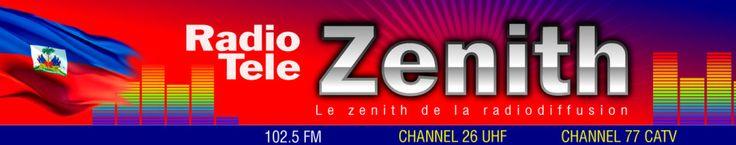 Radio Zenith 102.5 FM live from Port-au-Prince Haiti !