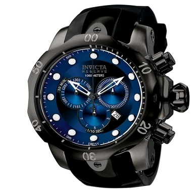 17 best images about invicta stainless steel sea invicta men s reserve venom chronograph black polyurethane 399 00 next day shipping
