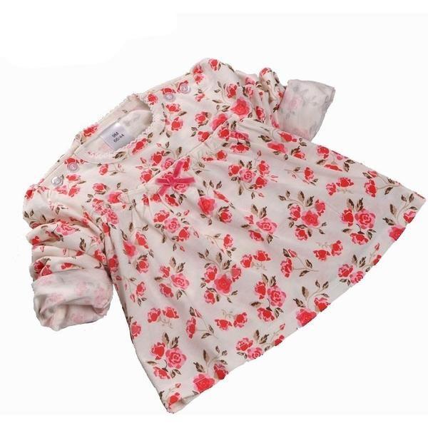 Baby Girl Clothes Cotton Newborn Infant Clothing Print Baby T-shirt Girls Children's T-shirt Baby