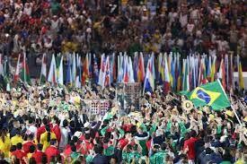 Cerimônia de abertura emociona e marca início da Olimpíada 2016 Diego Vara/Agencia RBS