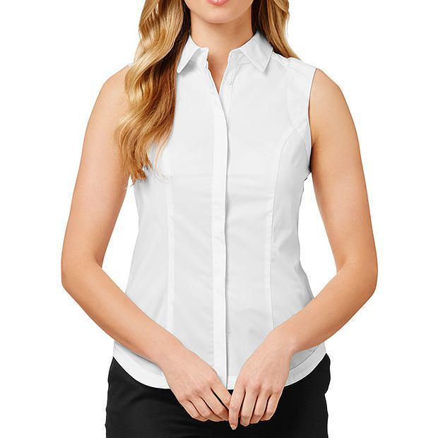 Sleeveless Basic Shirt