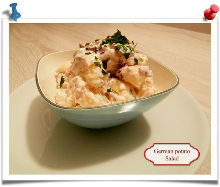 Imparare l'Arte della Cucina Quotidiana: German style potatoes: Kartoffelsalat