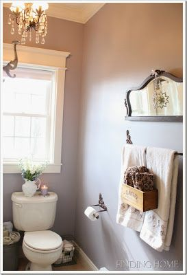 Small Bathroom Chic Elegant Mirrors Make Bathrooms Look Bigger Towels Bar And Places