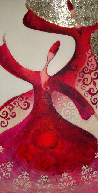h a t t ı s o u l: kırmızı-Art by Canan Berber