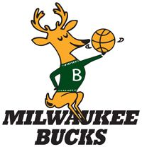 Retro Milwaukee bucks