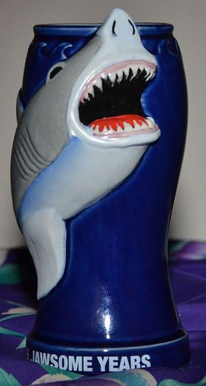 Discovery Channel Shark Week 25th Anniversary Mug from the collection of lesdaddy - Ooga-Mooga! Tiki Mugs & More