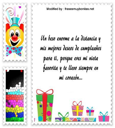 dedicatorias de cumpleaños para mi nieto,descargar frases bonitas de cumpleaños para mi nieto: http://www.frasesmuybonitas.net/para-mi-nieta-las-mejores-frases-de-cumpleanos/