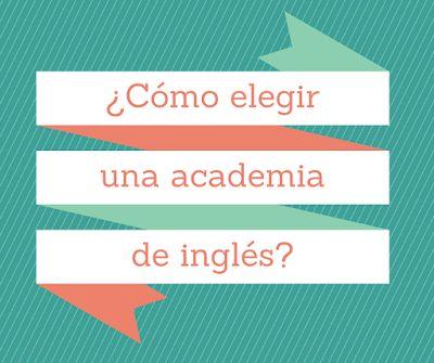 Como elegir una academia de inglés #academia #inglés #idiomas