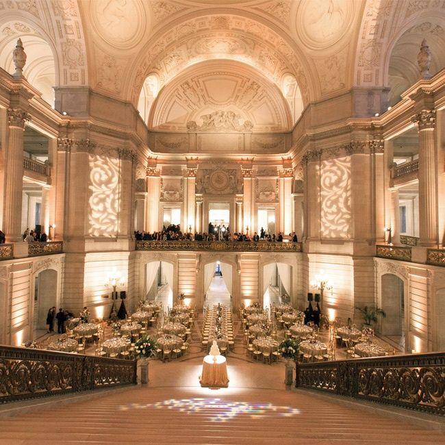 San Francisco City Hall Reception | Josh Gruetzmacher | Theknot.com
