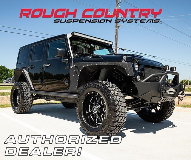 We Have Some Big News For Our Jeep And Truck People We Are Now A Roughcountry Dealer Come By Our New Shop In Sealy T Jeep Trucks Rough Country Suspension