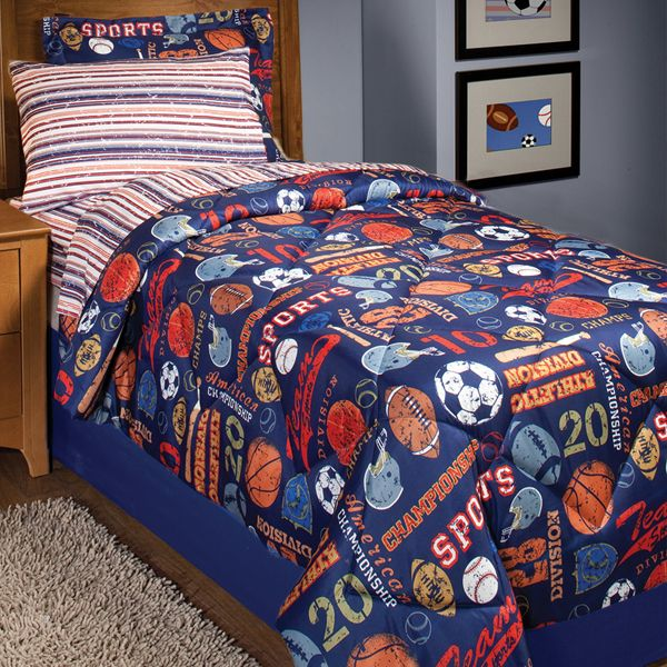 17 Best Images About Sports Bedding For Boys On Pinterest