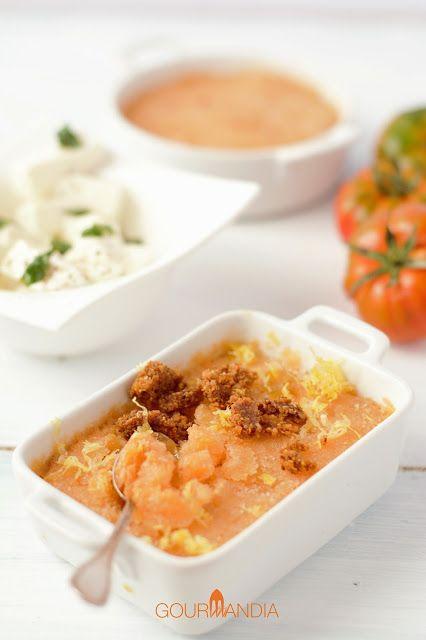 Per il Calendario del cibo italiano celebriamo la giornata Nazionale del Pomodoro con un sorbetto realizzato con questo frutto: un ottimo dessert o un originale antipasto da abbinare ai formaggi freschi.