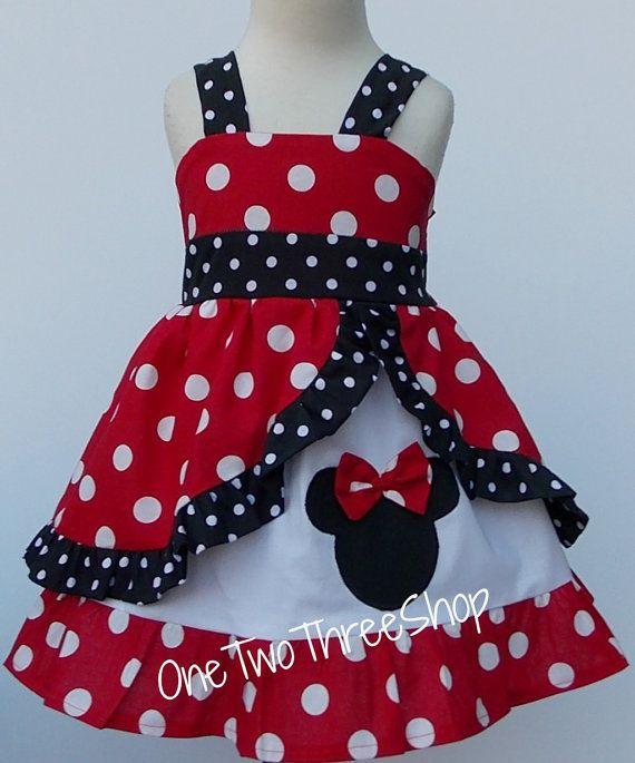 Minnie+Med+red++peekaboo+Jumper+Dress+by+amacim+on+Etsy,+$39.99