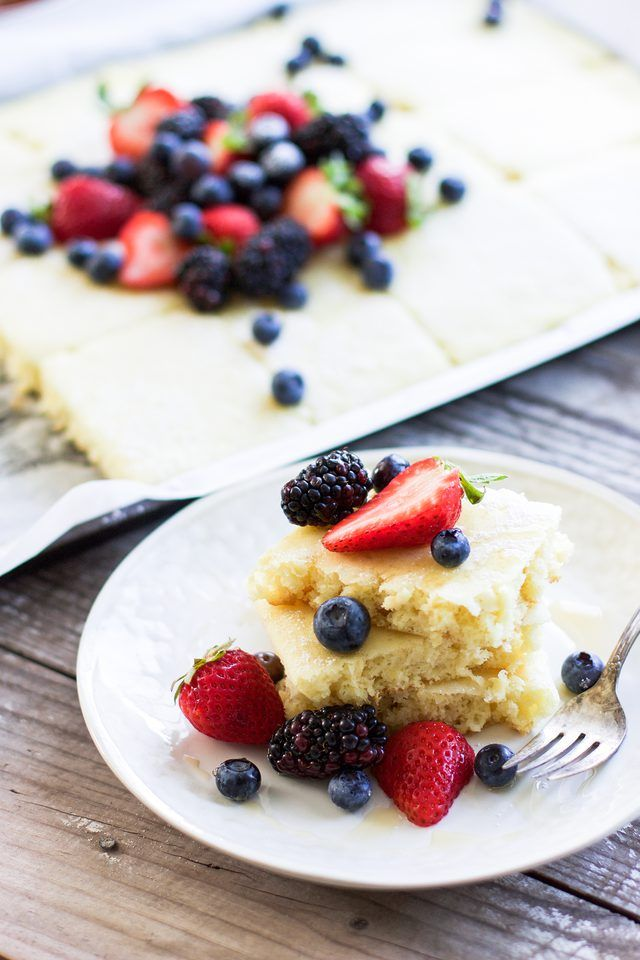 How to Make Sheet Pan Pancakes   eHow