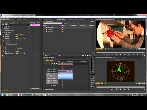 ▶ Premiere Pro CS6 Techniques: 56 Color TEN Vignettes ONE - YouTube