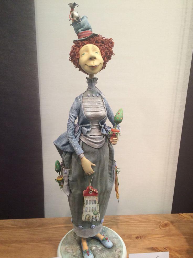 Кукла с московской международной выставки от 13.12.2014