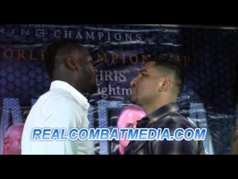 Deontay Wilder vs. Chris Arreola Media Conference Call Transcript & MP3 - REAL COMBAT MEDIA