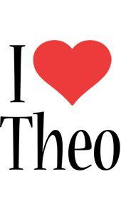 The Name Theo | THEO NAME LOGO GENERATOR