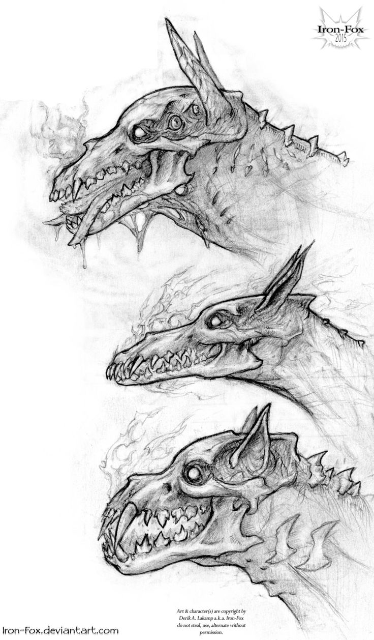 Hellhound Variants by Iron-Fox.deviantart.com on @DeviantArt