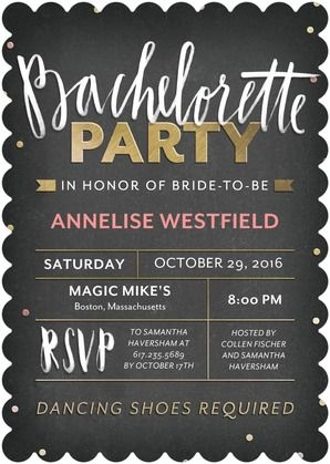 Best 25 Bachelorette party invites ideas on Pinterest