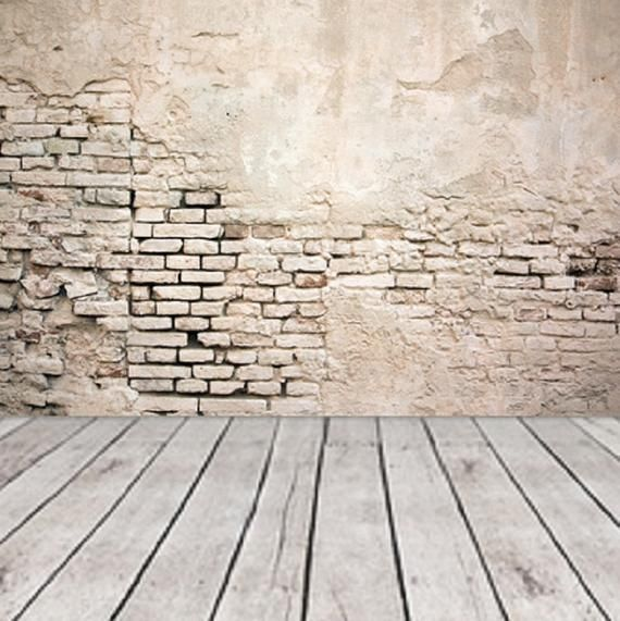 Colored Old Grunge Brick Wall Wall Mural Self Adhesive Wallpaper Removable Mural Damaged Stucco Brick Wallpaper Design Peel Stick 30 In 2020 Brick Wall Brick Wallpaper Wall Murals