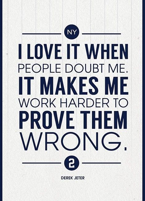''Derek Jeter Quote on Print. See more at www.finesportsprints.com #jeter#sportsquote #yankees''