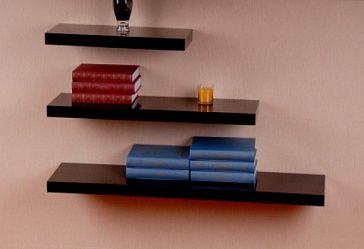 Полка горизонтальная настенная Горизонтальная открытая настенная полка - для хранения книг и других предметов