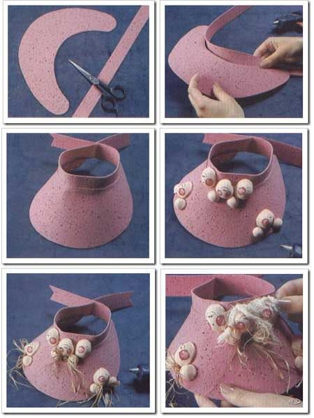 23 Best Images About Microporoso Viseras Y Gorros On