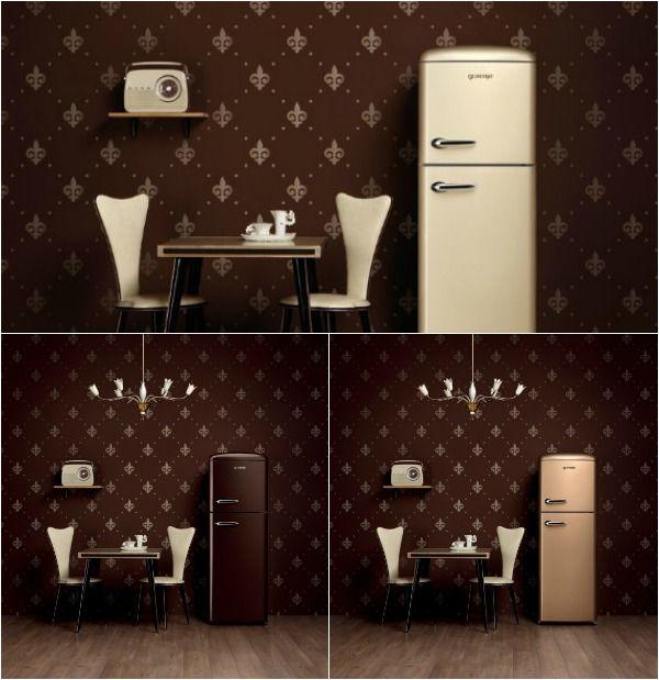 #excll #дизайнинтерьера #решения Ретро техника в интерьере кухни