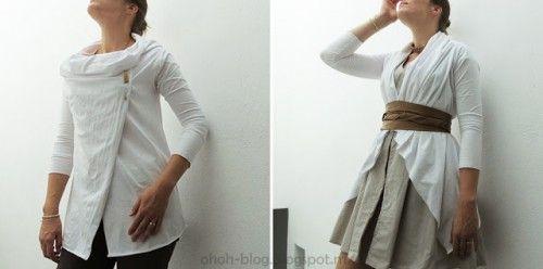 Versatile draped cardigan - diy