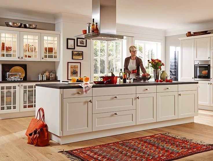 Nobilia Küche Chalet 885 Weiß Matt