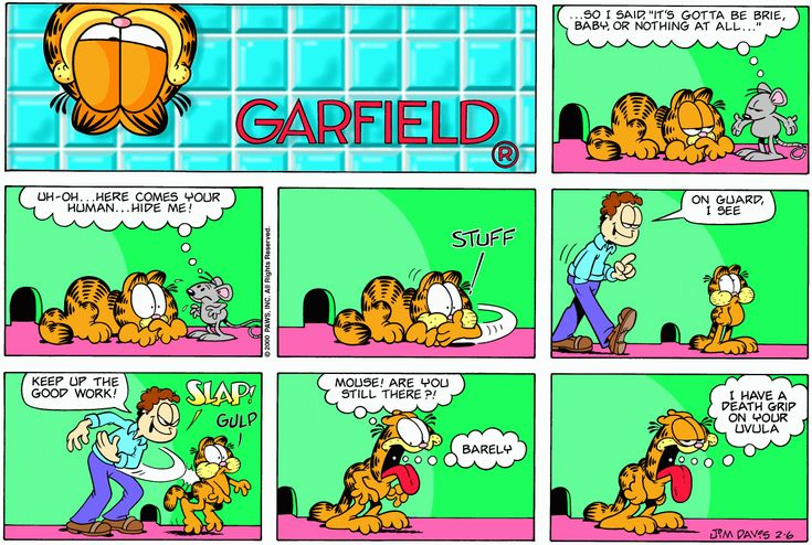 garfield comic strip analysis The analysis comic strips gathered from over thirty leading newspaper comic strips these are available for you to license for books, magazines, newsletters, presentations and websites.