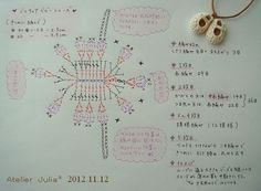 ミニチュアベビーシューズ 編み図 2012.11.12