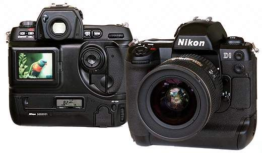 """Nikon D1, 1999. The mother of DSLR.  As professional said, """"The End of The Beginning (of the digital era) - The Beginning of The End (of the film era)""""."""